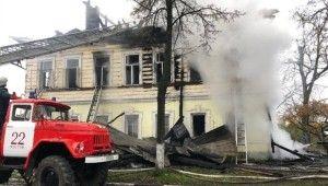 Rusya'da 2 katlı binada yangın