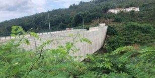 ODÜ gölet inşaatı tamamlandı