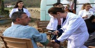 Sağlık hizmetleri köylünün ayağına gidiyor