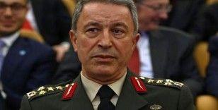 """Milli Savunma Bakanı Hulusi Akar, """"Dünyanın bu namertlerin gerçek yüzünü görmesini bekliyoruz"""""""