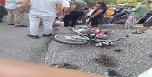19 yaşındaki genç motosiklet kazasında hayatını kaybetti