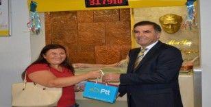 PTT'den 179'uncu müşteriye özel hediye