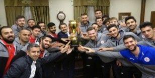 Balkan kupası Tokat'ta