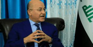 """Irak Cumhurbaşkanı Salih: """"İran ve ABD arasındaki olası savaş herkes için bir felaket olur"""""""