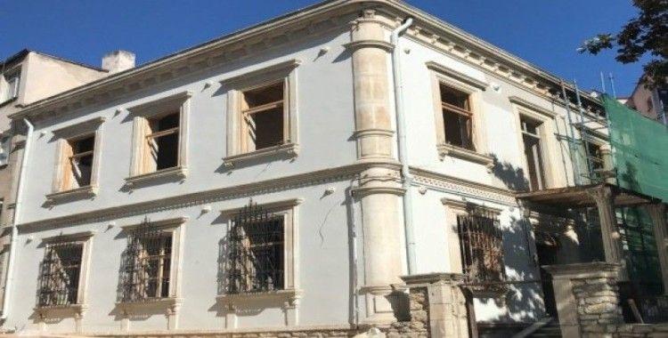 Tarihi Vali Konağı Kütüphane oldu