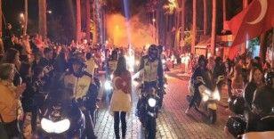 """Marmaris'te  """"Cumhuriyet"""" bayramını coşku ile kutlandı"""