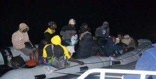 Kuşadası'nda 15 düzensiz göçmen yakalandı