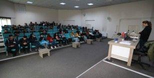 Stajyer öğrencilere 'iş sağlığı ve güvenliği' eğitimi