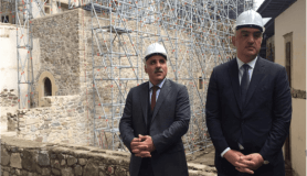 """Bakan Ersoy: """"Sümela Manastırı'nın 2. etabını da önümüzdeki 2020 yılı Mayıs ayında ziyarete açacağız"""""""
