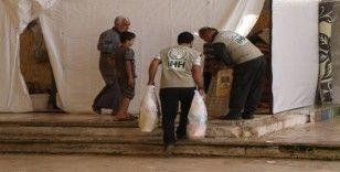 Suriyeli sivillere hijyen paketi yardımı
