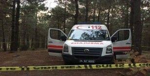Çalınan ambulans incelemelerin ardından olay yerinden kaldırıldı