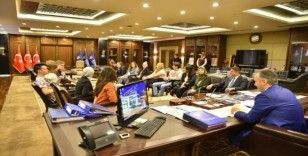 Dünya gençleri Bursa'da