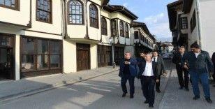 Yeşilyurt Belediye Başkanı Başkanı Çınar, çalışmaları yerinde inceledi