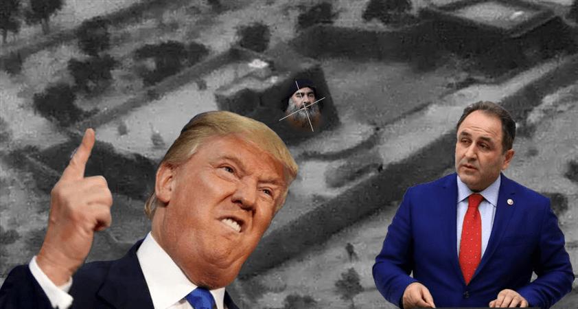 Trump Bağdadi'yi öldürdük dedi, kanıt var mı? yok..