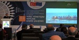 İzmir'in 30 ilçesinin kaymakamı Çeşme'de buluştu