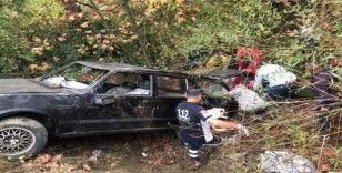 Sındırgı'da yağmurda kayganlaşan yolda kaza ölüm getirdi