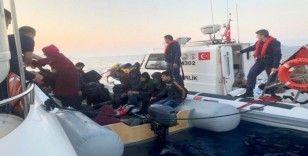 Bodrum'da 140 kaçak göçmen yakalandı