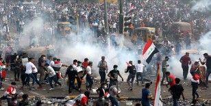 Bağdat'taki protestolar devam ediyor