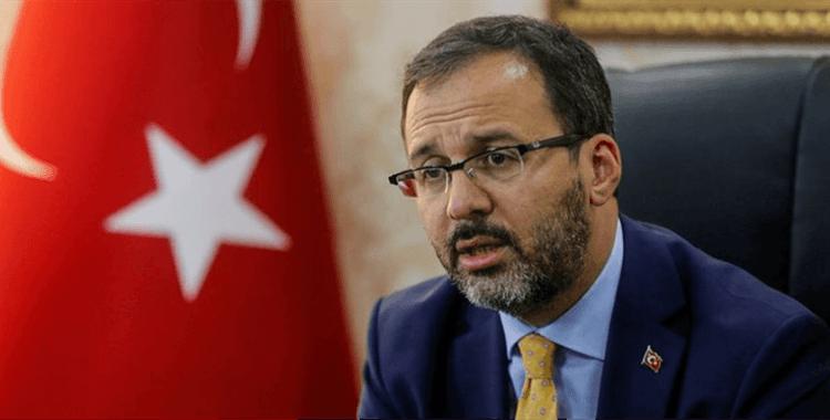 Bakan Kasapoğlu, Ankaragücü'nün yeni başkanı Fatih Mert'i tebrik etti