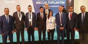 Başkan Özcan, Enerji Kentler Birliği toplantısına katıldı