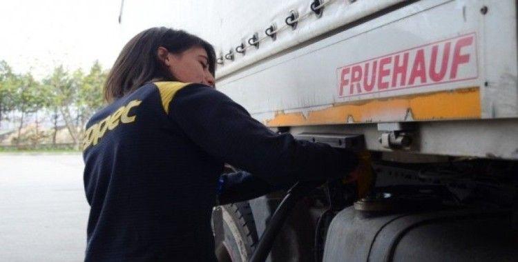 (Özel) Lüleburgaz'ın tek kadın pompacıları