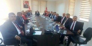 Milli Eğitim Müdürleri aylık toplantısını Köşk'te yaptı