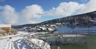 Sivas'ta mevsimin ilk karı