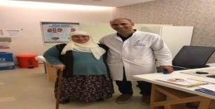Diyabet hastası yaşlı kadın kapalı ameliyat yöntemiyle 6 cm'lik kanserli tümörden kurtuldu