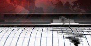 Kayseri'de 3,4 büyüklüğünde deprem