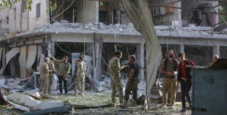 Tel Abyad'daki saldırıda çok sayıda kişi öldü