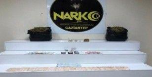 Gaziantep'te uyuşturucu tacirlerine operasyon: 17 gözaltı