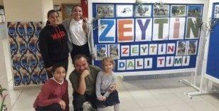 Ayvalık Mehmet Akif Ersoy Ortaokulu'nun Zeytindalı Gençlik Grubu çalışmalarına hızlı başladı