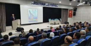 """Arguvan'da """"diyabet"""" konulu toplantı düzenlendi"""