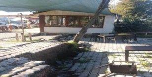 Fatsa'da toprak kayması