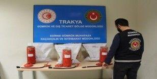 Kapıkule'de 194 kilo eroin ele geçirildi