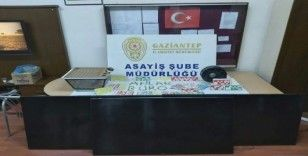 Gaziantep'te kumar baskını:7 gözaltı