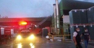 Bursa'da fabrika yangını korkuttu