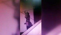 Başakşehir'de örümcek adam'a özenen hırsızlar kamerada