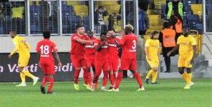 Süper Lig: MKE Ankaragücü: 0 - Gaziantep FK.: 1 (İlk yarı)