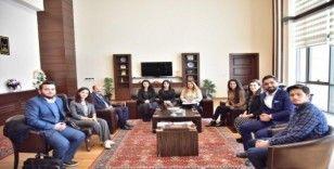 UCİM'den Rektör Çakmak'a ziyaret