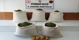 Diyarbakır'da 220 kilogram esrar ele geçirildi
