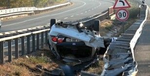 Üniversiteli genç kazada feci şekilde can verdi, 5 arkadaşı yaralandı