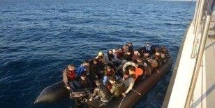 İzmir'de 72 kaçak göçmen yakalandı