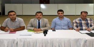 Mersin'de atık ve temizlik hizmetleri yönetimi tartışıldı