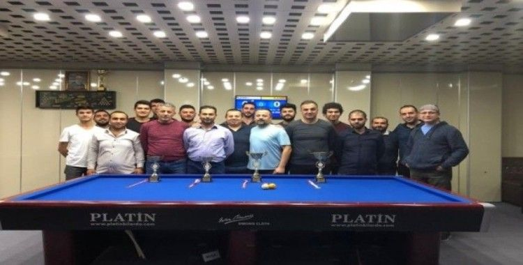 29 Ekim Cumhuriyet Kupası 3 Bant Bilardo Turnuvası tamamlandı