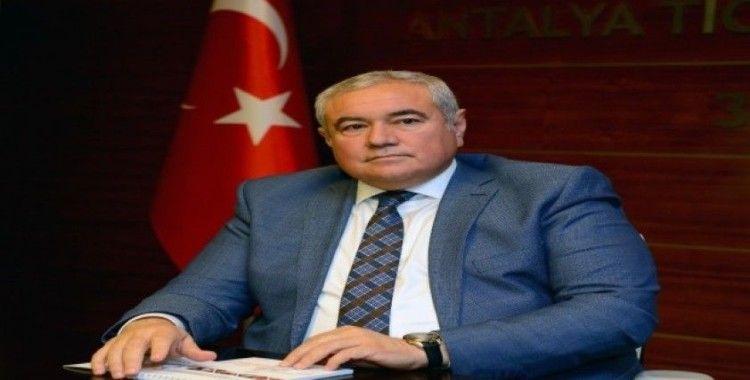 ATSO Başkanı Çetin'den Ekim ayı enflasyonu değerlendirmesi