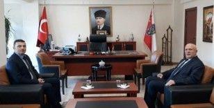 Başkan Pekmezci'den Emniyet Müdürü Bodur'a iade-i ziyaret
