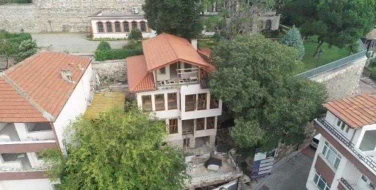 Pembe Köşk'ün imalatları tamamlanıyor
