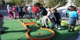 Eyüpsultanlı çocuklar Mini Golfle buluştu