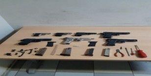 Gaziantep'te silah kaçakçılarına operasyon: 3 gözaltı